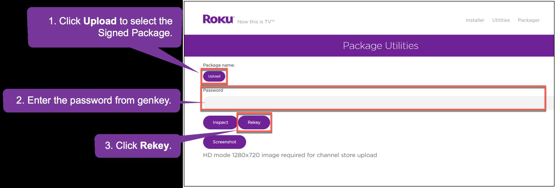 Roku Developer | Documentation | Packaging Roku channels