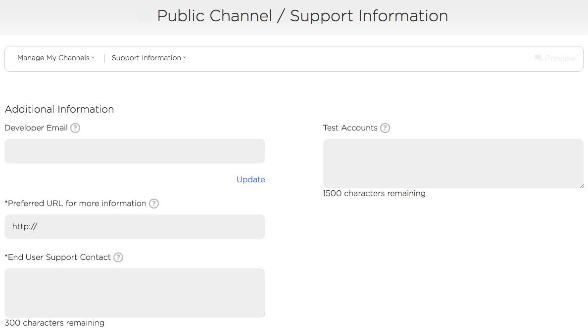Roku Developer | Documentation | Channel publishing