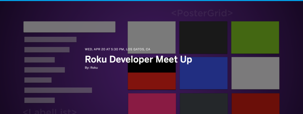 Roku Developer Meetup