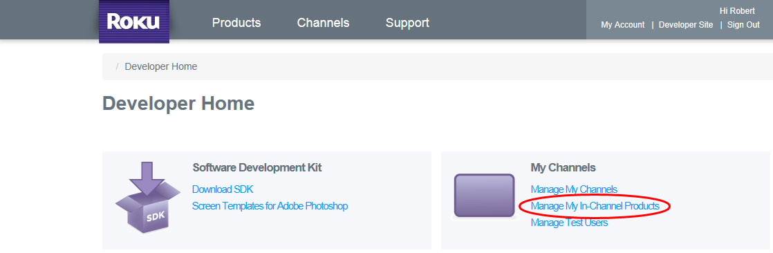 Supporting In App Purchases in Your Roku BrightScript Channels ...