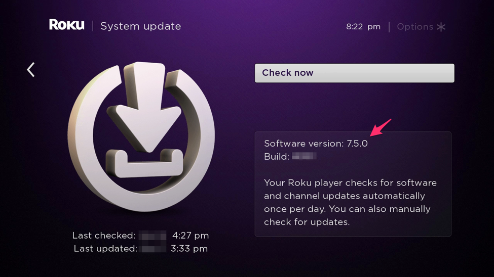OS 7.5 — System Update