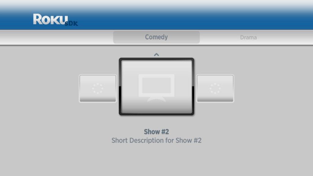 SDK1 visual screen