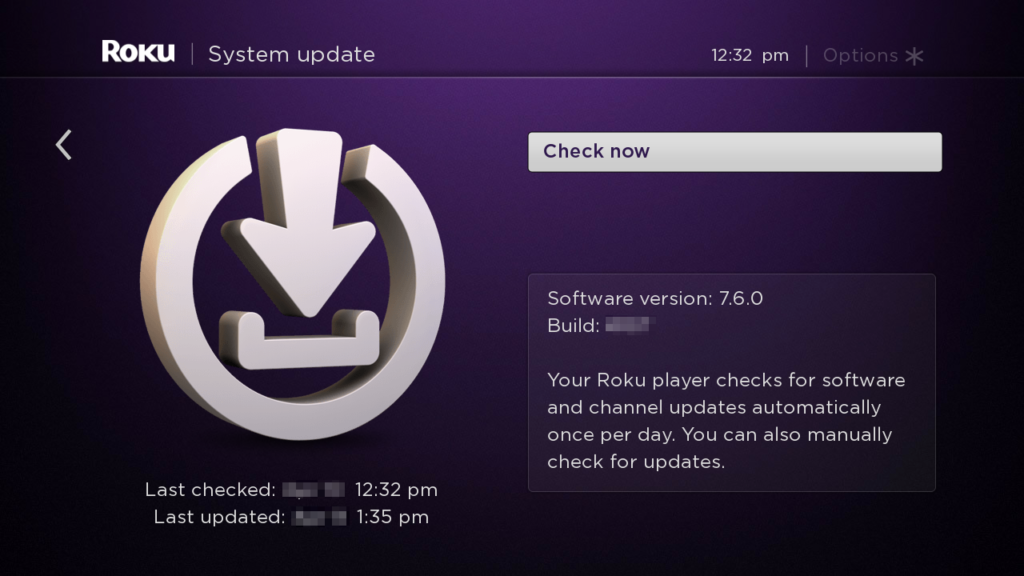 7.6 system update