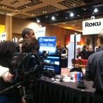 Roku Booth at Pepcom