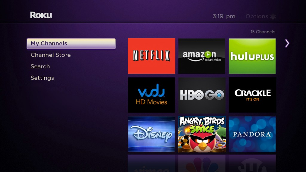 Rolling out the new roku interface the official roku blog Home tv channel