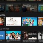 Hulu Plus on Roku home screen bottom