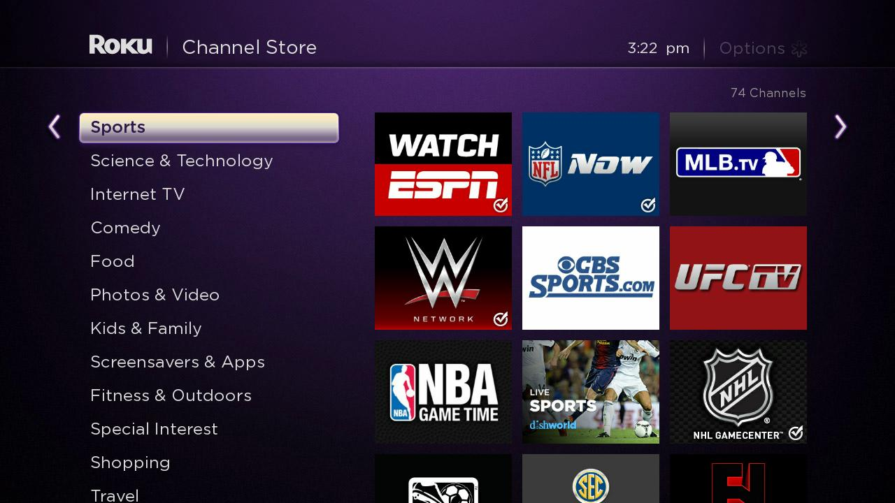 Sports Channels On Roku The Official Roku Blog