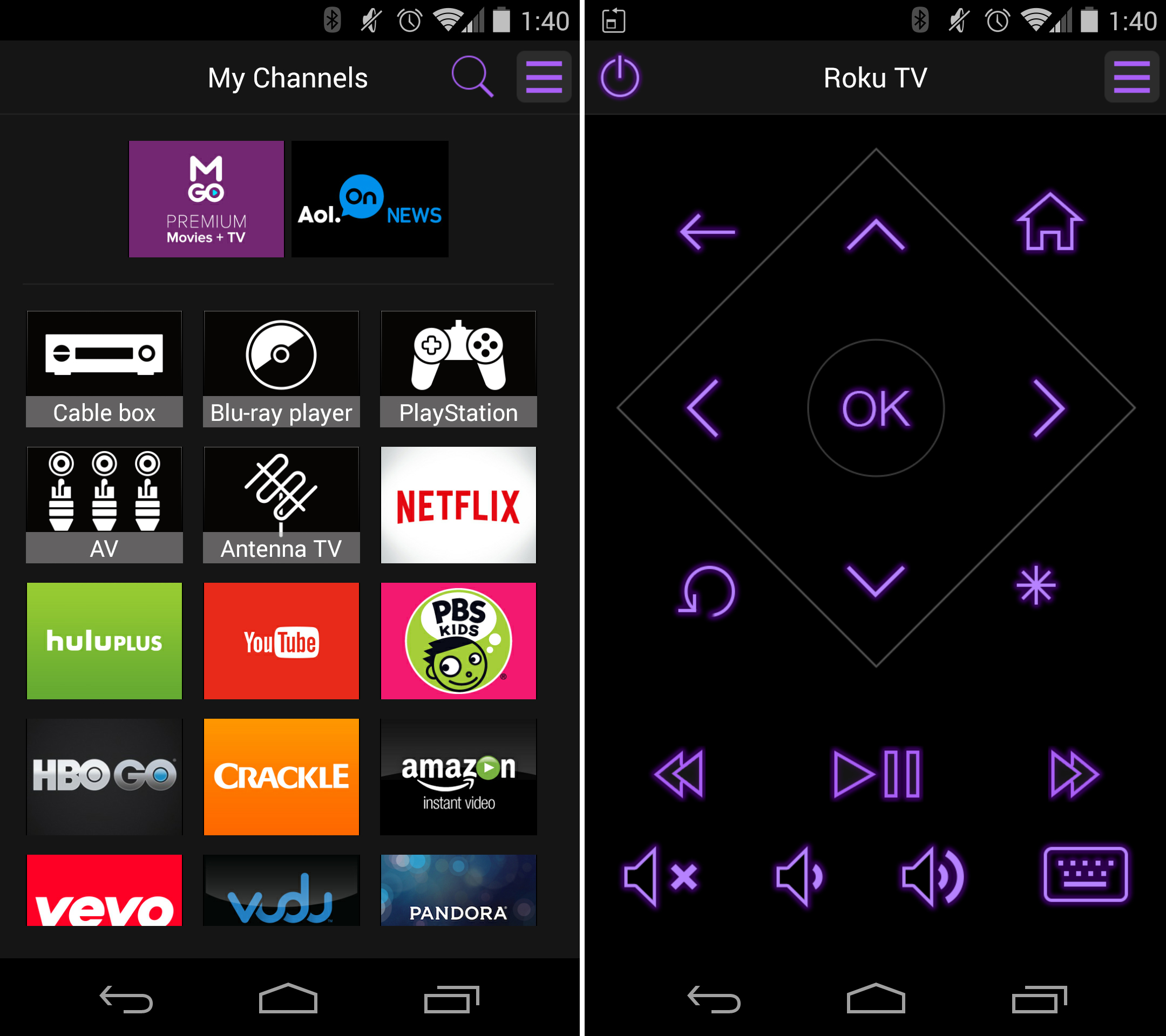 Phone App To Remote Control Android Phone control roku tv with the free mobile app for android ios and on screen remote functions as a full buttons youll find your including volume