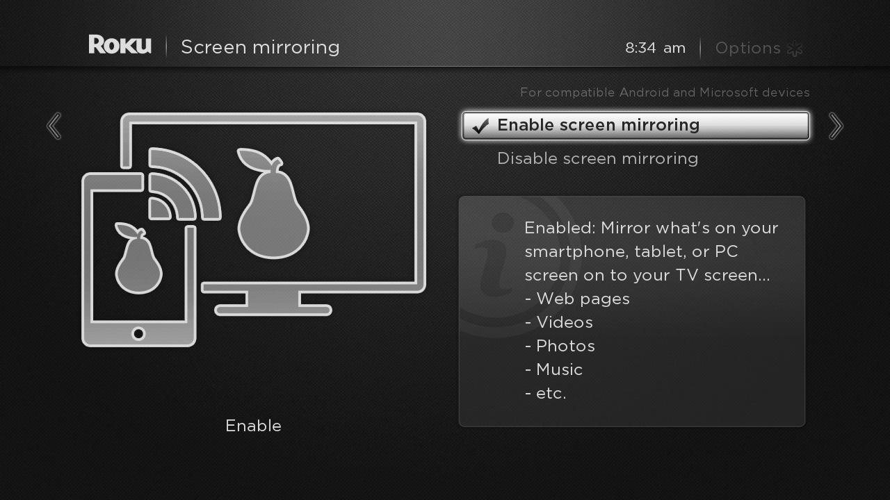Introducing roku screen mirroring beta for microsoft windows and android devices the - Mirror screen ...