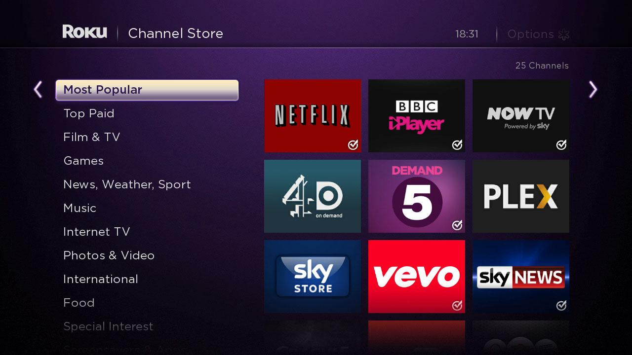 Tv shop uk online