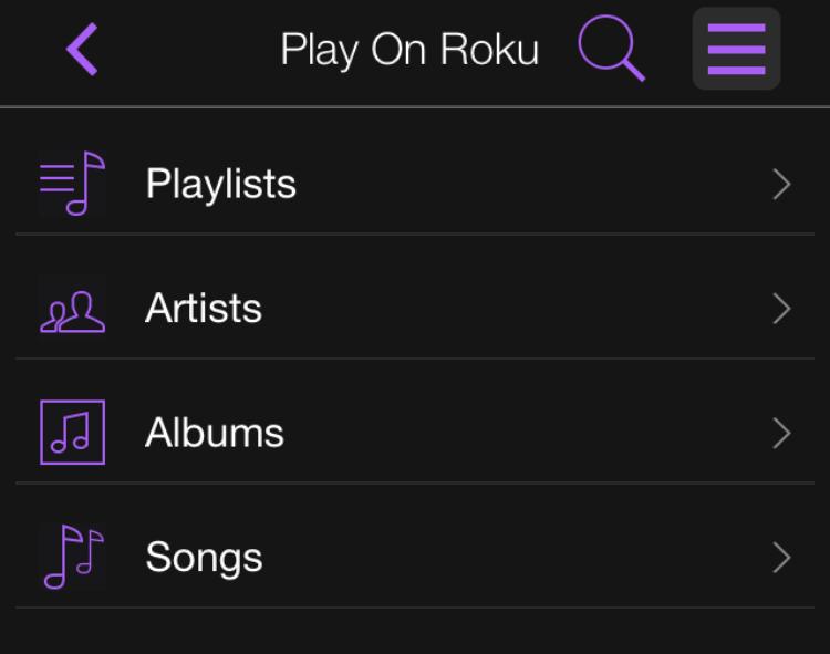 Play On Roku Music