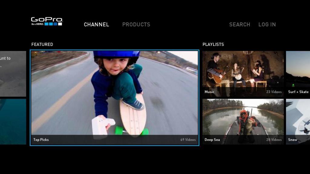 Go Pro Home Screen Skateboard Kid