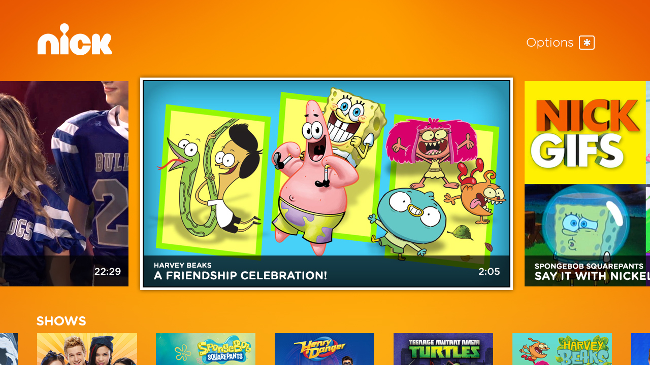 new in the roku channel store nickelodeon   the official