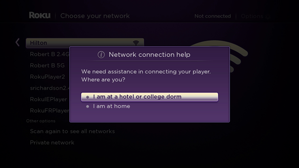 How do i hook up my roku stick