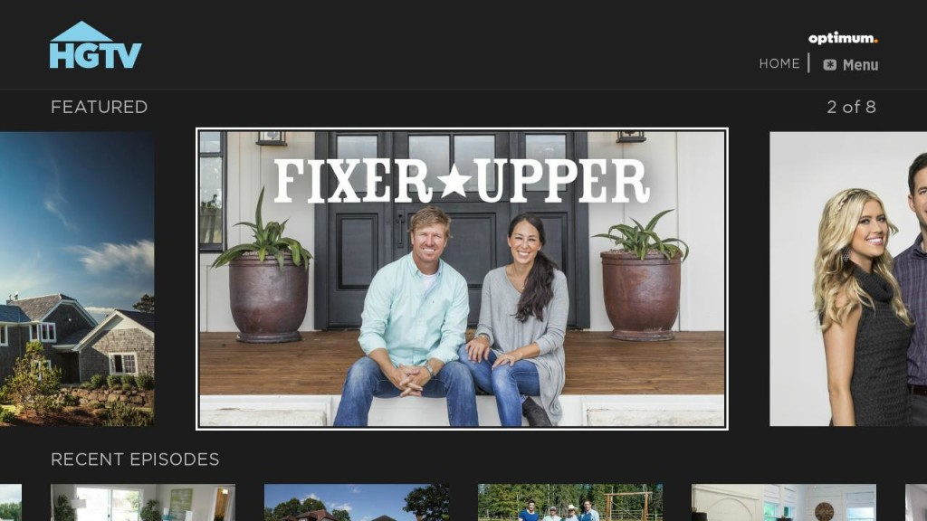 HGTV Home Screen Fixer Upper