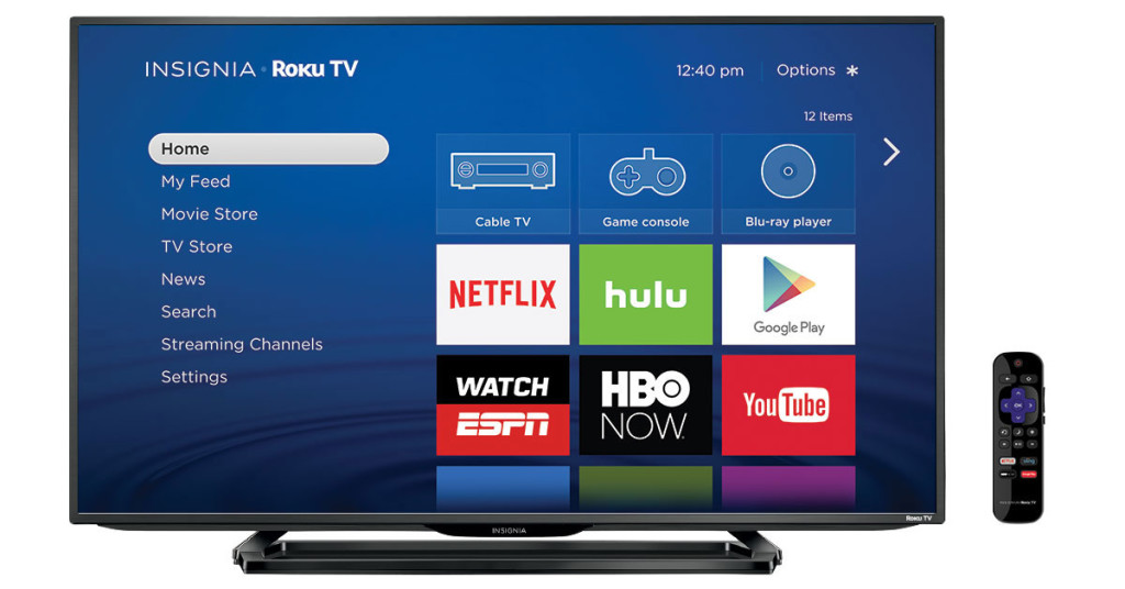 4k UHD Insignia Roku TV Best Buy