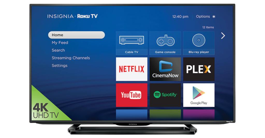 4k UHD Insignia Roku TV Best Buy Canada