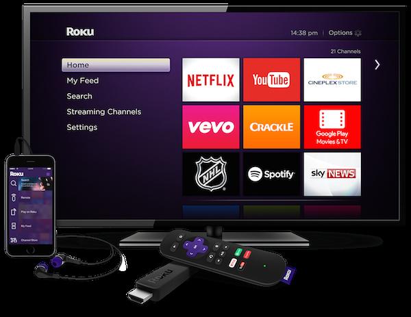 Canada_Roku_Streaming Stick_TV_Phone_Headphones