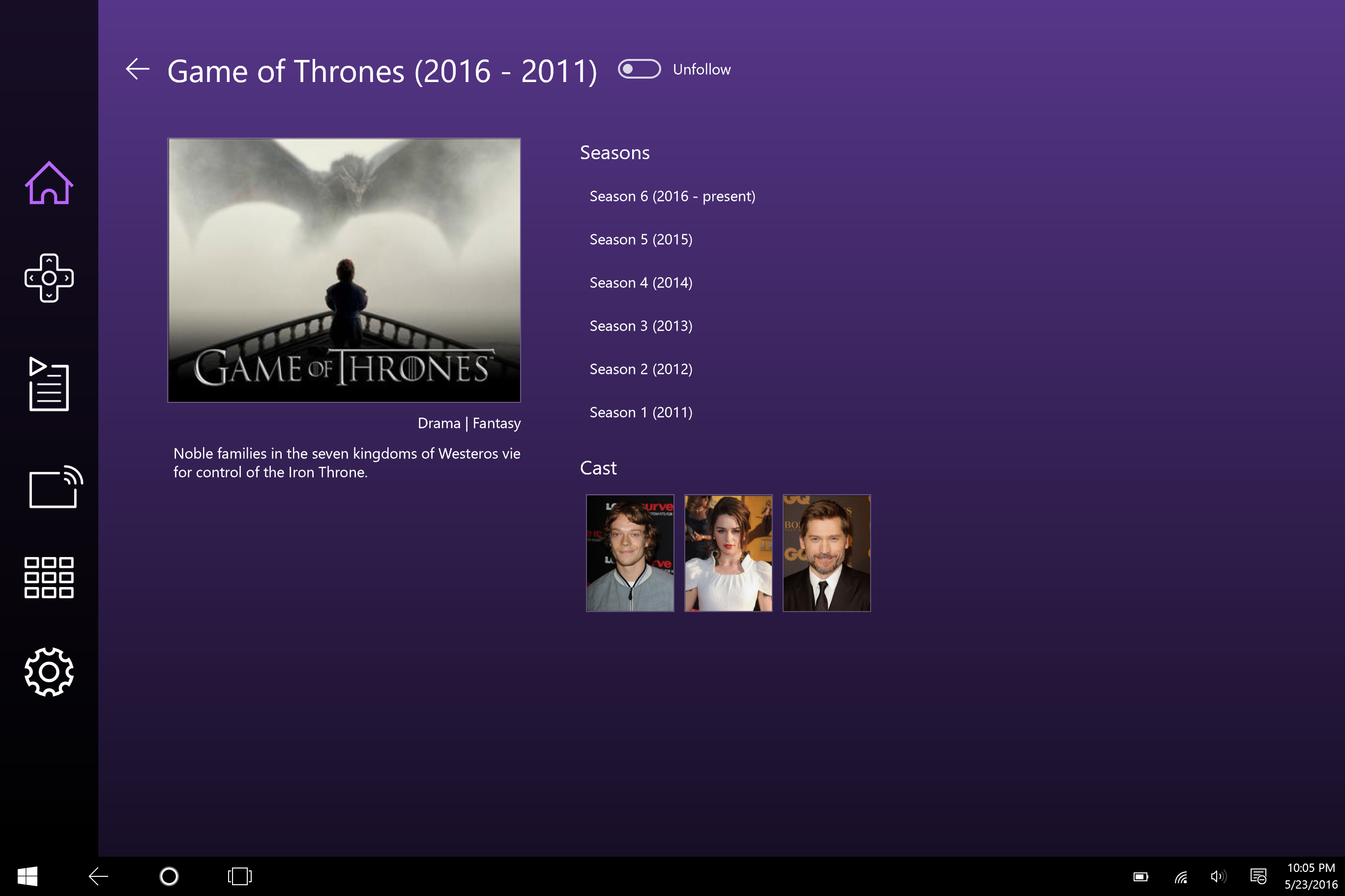 Windows 10, Roku mobile app, U.S.