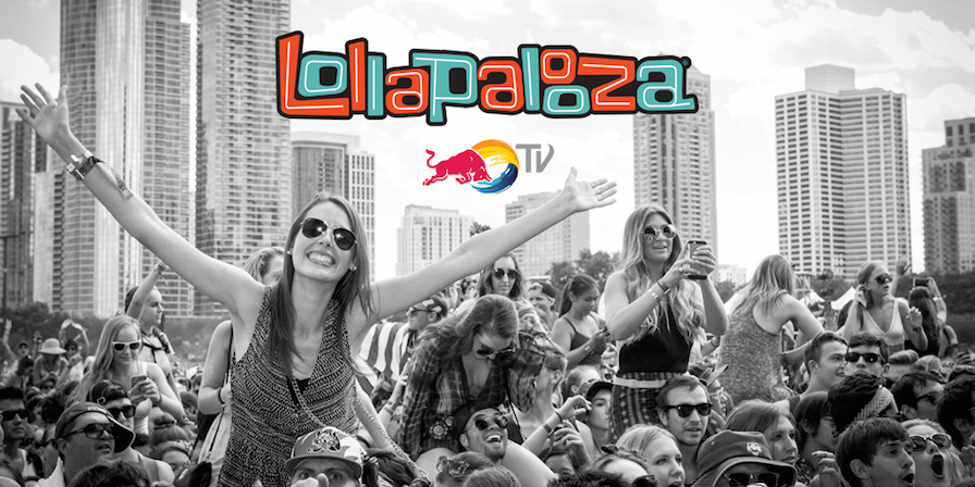 Red Bull TV Stream Lollapalooza on Roku