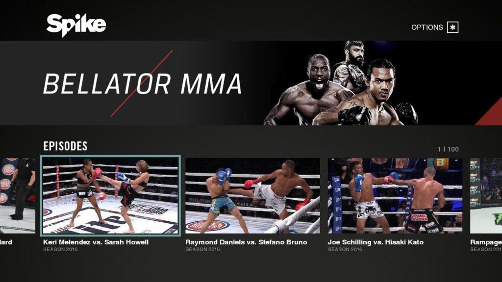Spike Roku MMA