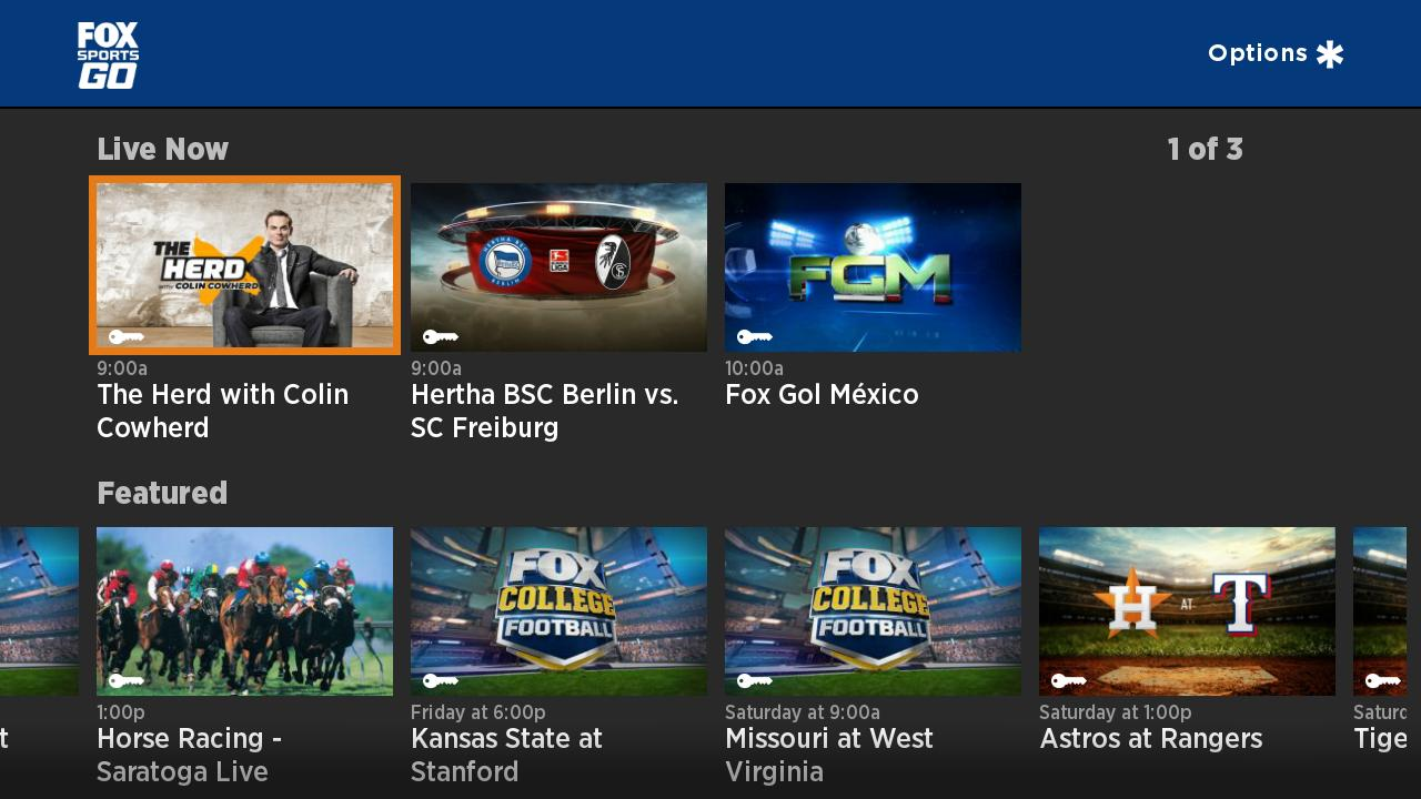 Fox Sports Tv 54