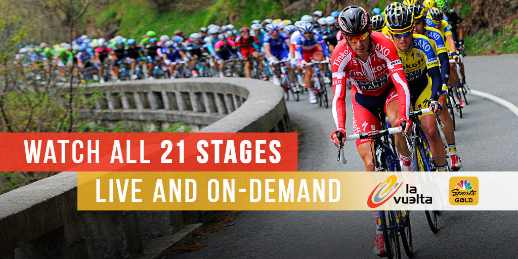 NBC Sports Gold Vuelta a Espana on Roku