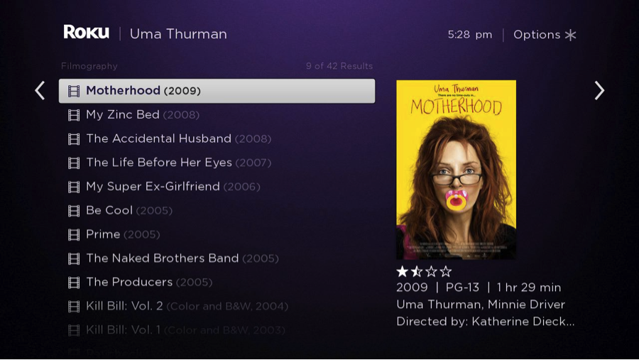 roku-search-uma-thurman-motherhood