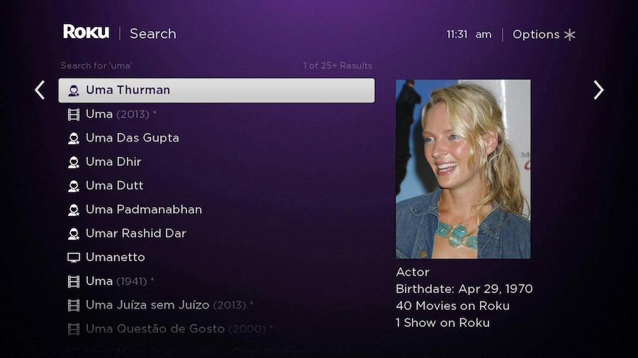 roku-search-uma-thurman