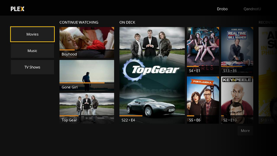 roku-plex-home-screen