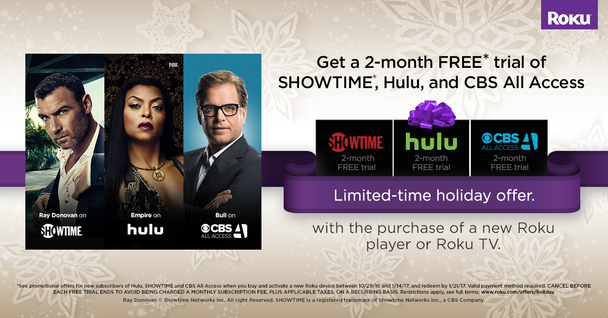 Have a new Roku device? Don't miss these free trials & offers