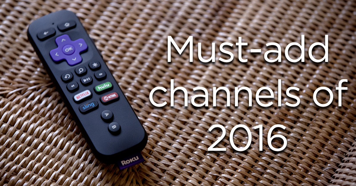 how to add roku channles