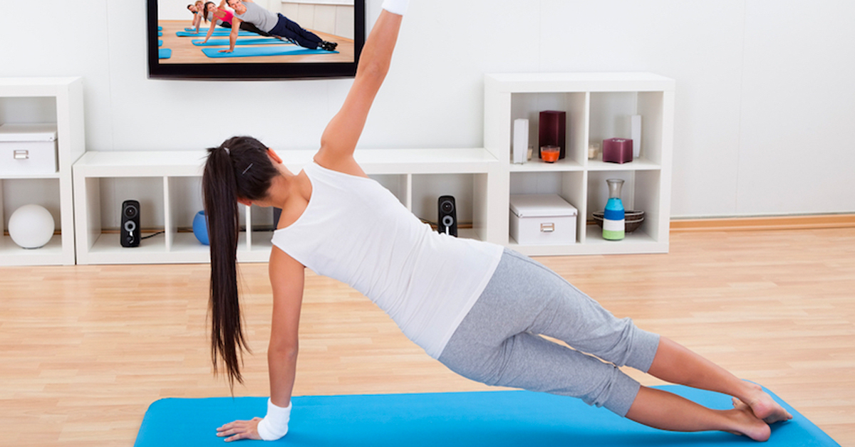 Work out at home using your Roku device