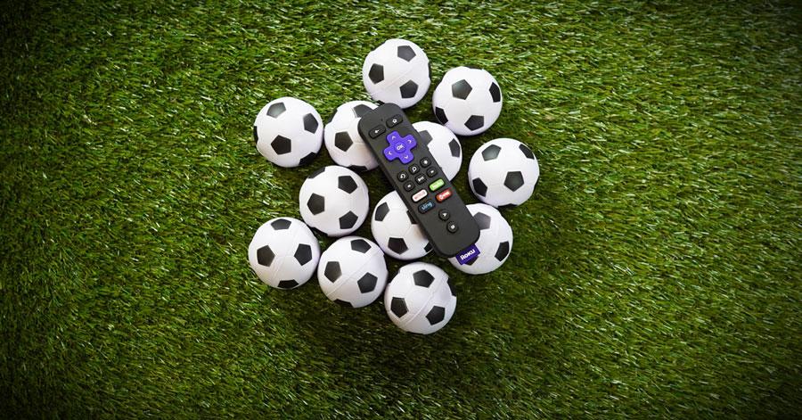 stream soccer on roku