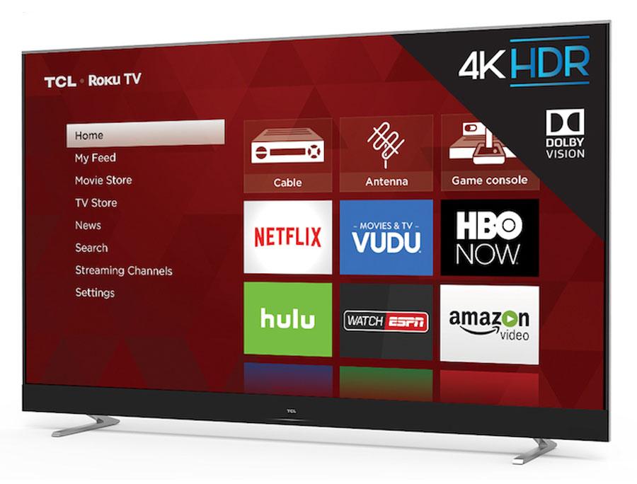 4K HDR TCL Roku TV C-series