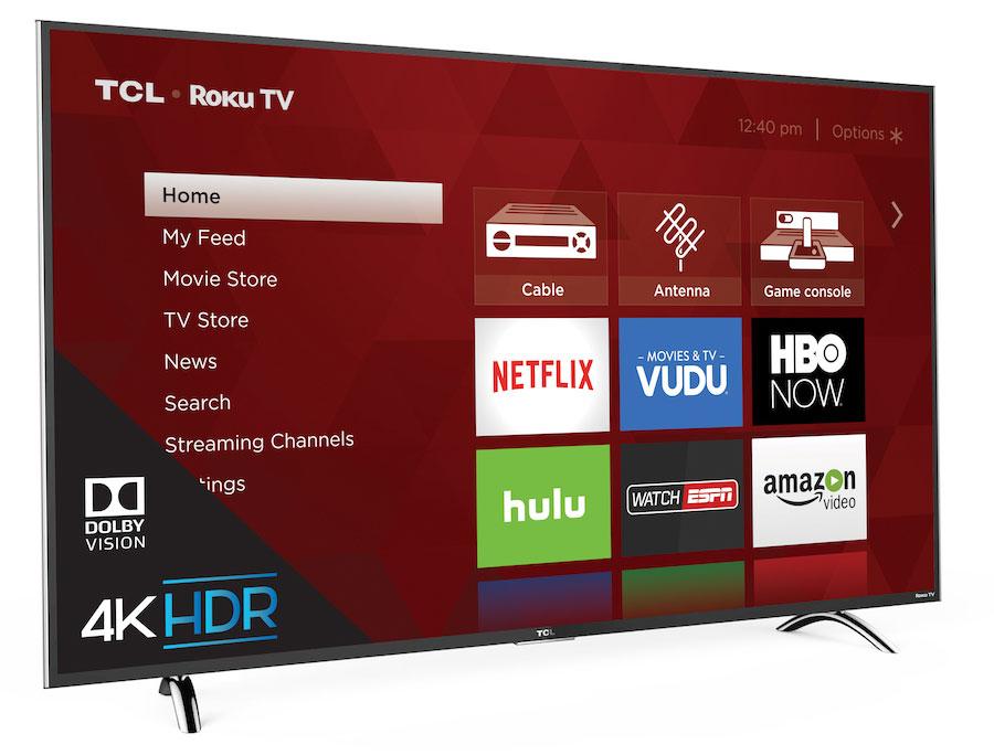 4K HDR TCL Roku TV P-series