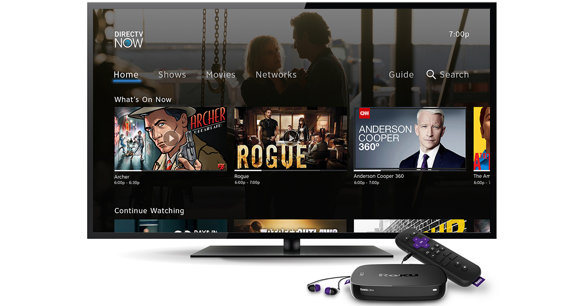 An Early Release Of Directv Now Available On Select Roku