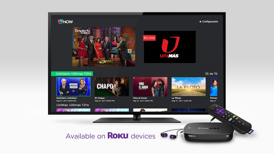 Univision Now on Roku