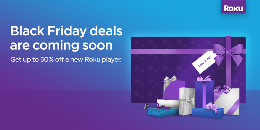 Roku Black Friday deals 2018