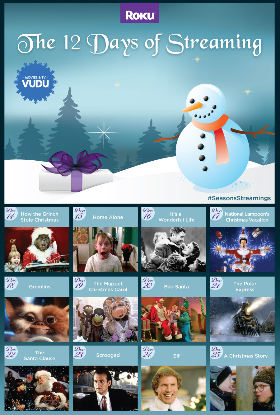 12 days of streaming watch classic christmas movies on vudu - Classic Christmas Movies