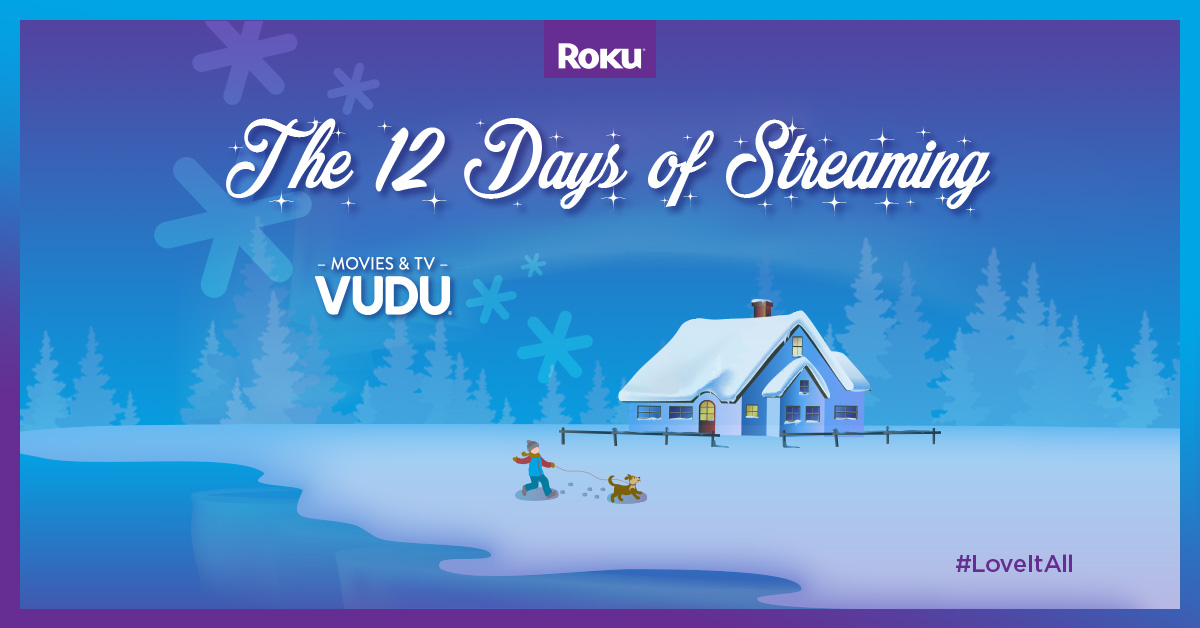 12 days of streaming: watch classic Christmas movies on Vudu