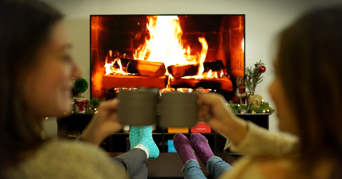 Turn your TV into a winter wonderland