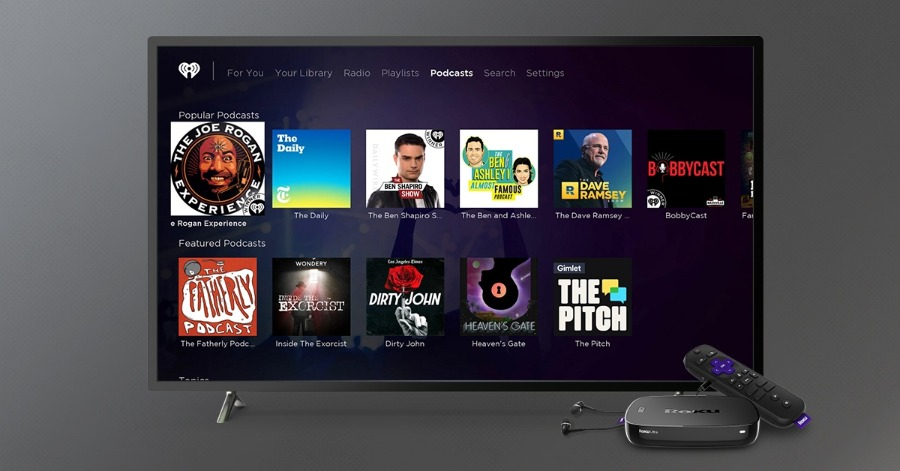 How to stream podcasts on your Roku players or Roku TVs
