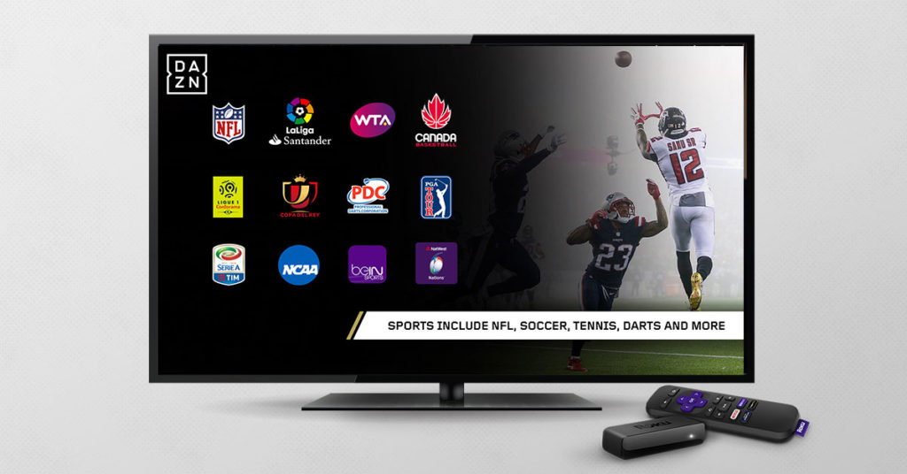 DAZN now available on Roku players and Roku TVs in Canada!