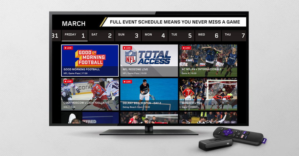 dazn su smart tv sharp