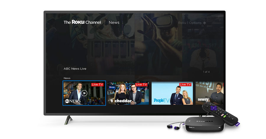 Live news on The Roku Channel is here!