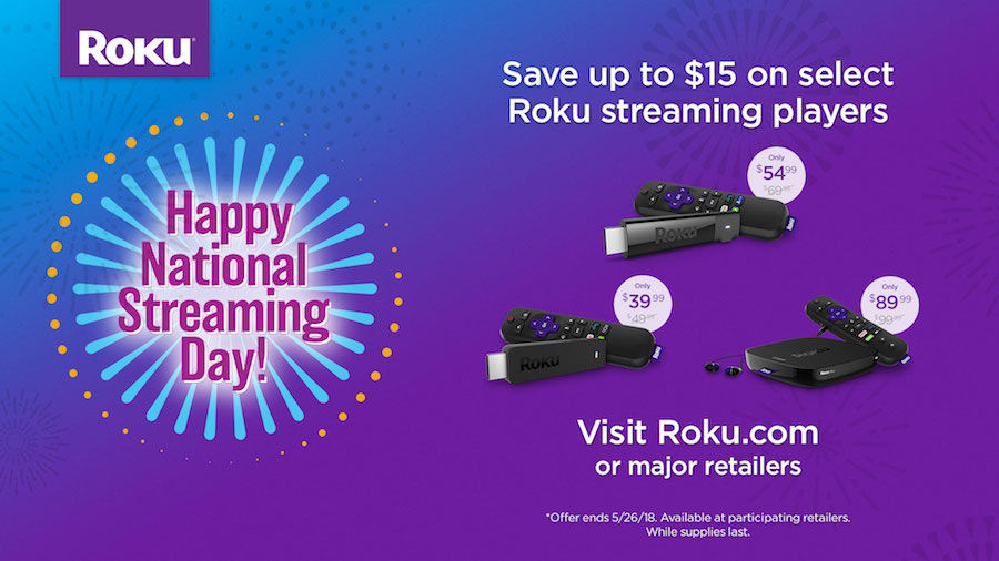national streaming day roku giveaway