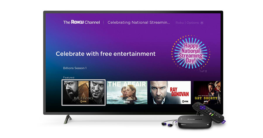 National Streaming Day 2018 free entertainment