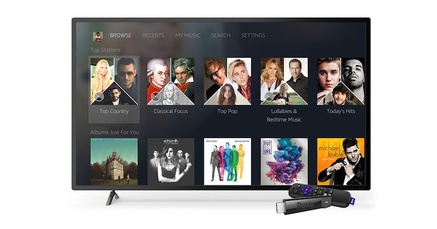 The new and improved Amazon Music channel on Roku devices