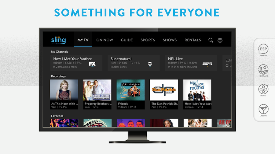 Sling TV on Roku devices